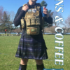 team guns and coffee tactical pose